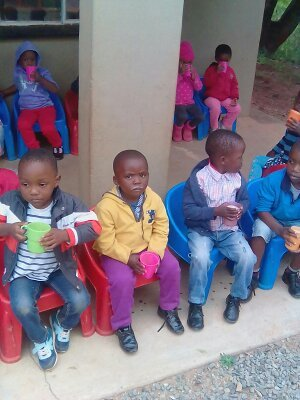 Children enjoying ePaP