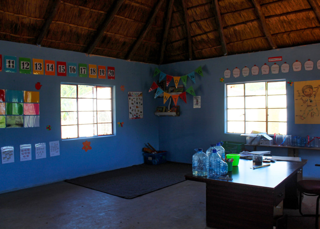 New look of the eZulwini NCP classroom