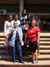 Graca Machel Scholars at the conference in Malawi