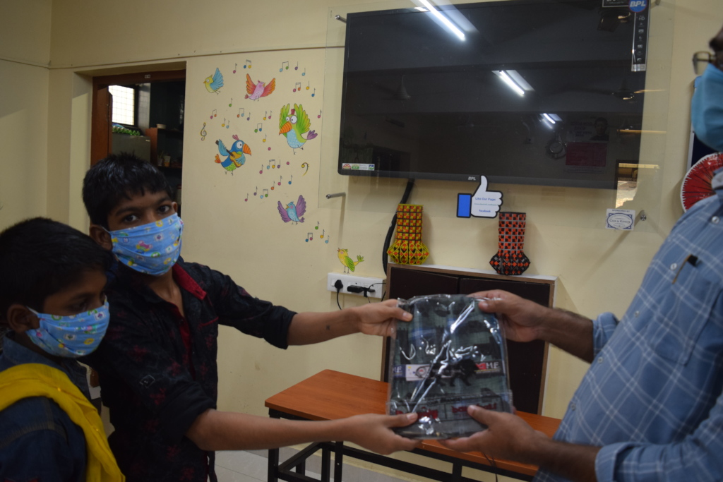 Clothes for 300 Children At Don Bosco Trivandrum