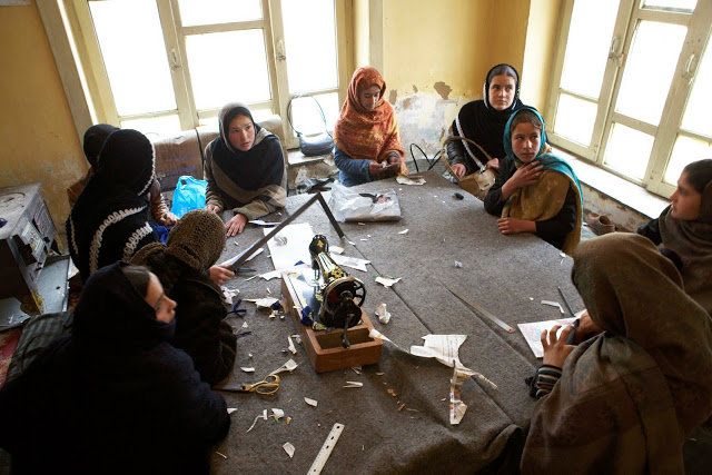 Provide Two Sewing Machines for Afghans