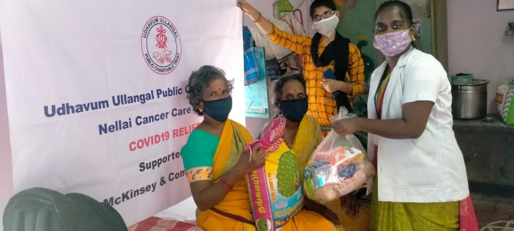 Cancer Screening of 3000 Rural Women in India (TN)
