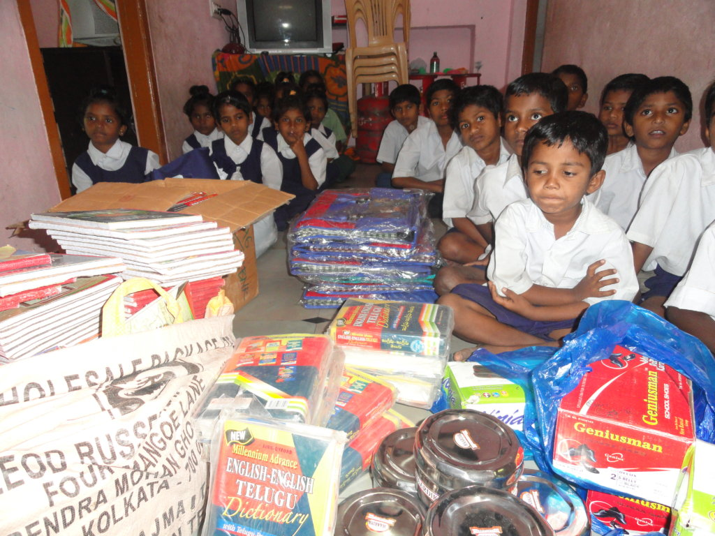 Donate Education Material for Orphan Children