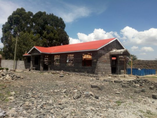 Dining Hall at the Live&Learn in Kenya Ed. Center