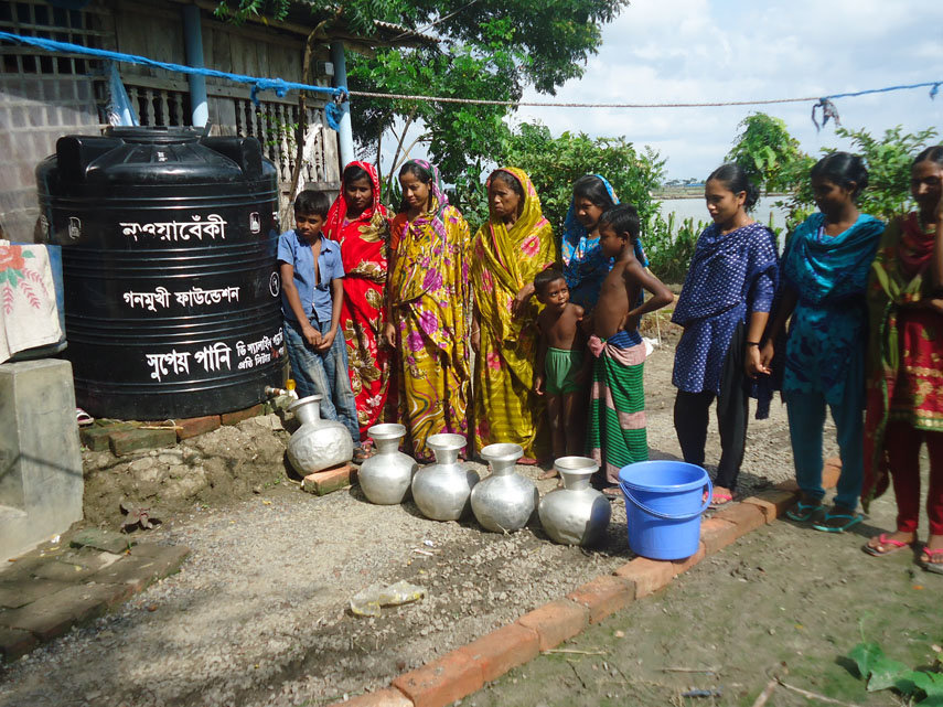 Give People Access to Clean Water