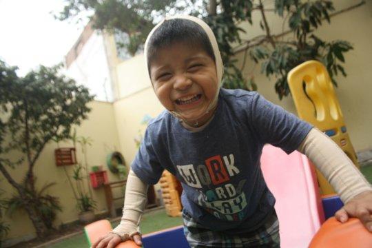 The biggest smile!