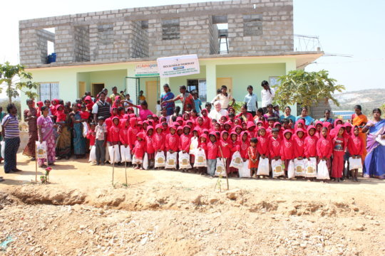 Support the Incomplete Orphanage Building