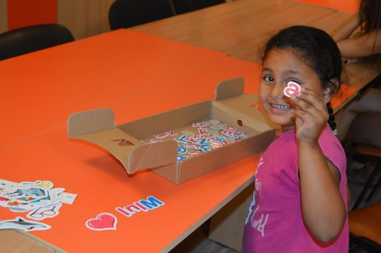 Children acquiring vital skills for school