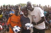 Give 3,000 Kenyan children hope through soccer