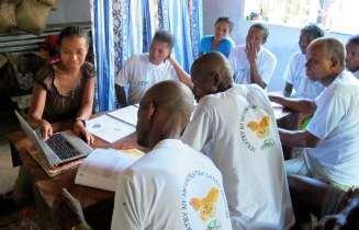 Ambinanitelo Training with Lalaina