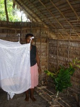 CPALI entrepreneur Marie Jean and her new nets