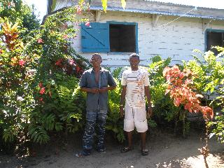 Bertrand and Mario at CPALI House