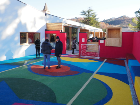 the new school inaugurated on December 11