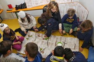 The Arquata del Tronto school inauguration