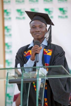 Abraham, a beneficiary of NAPE Foundation