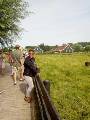 Laurietta in Netherlands for NBC
