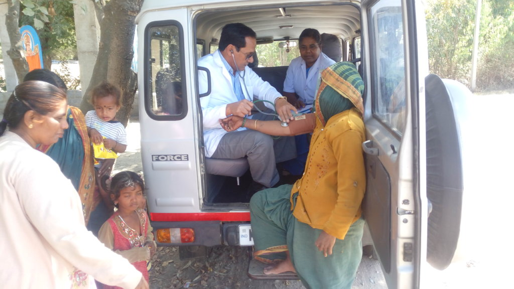 Mobile Health Care Service Vulnerable Community