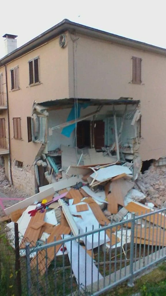 Earthquake in Italy: Re-starting from children