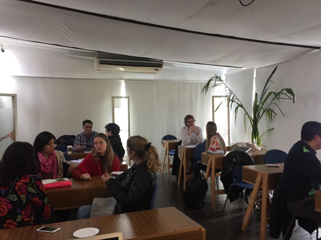 Workshop in Santiago Chile