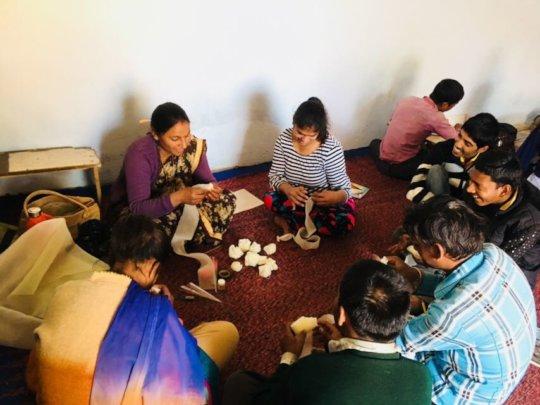 Vocational training to Children
