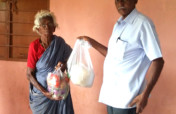Groceries to Neglected Elderly Women