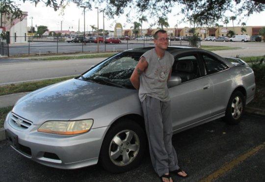 A Veteran and his Donated Car