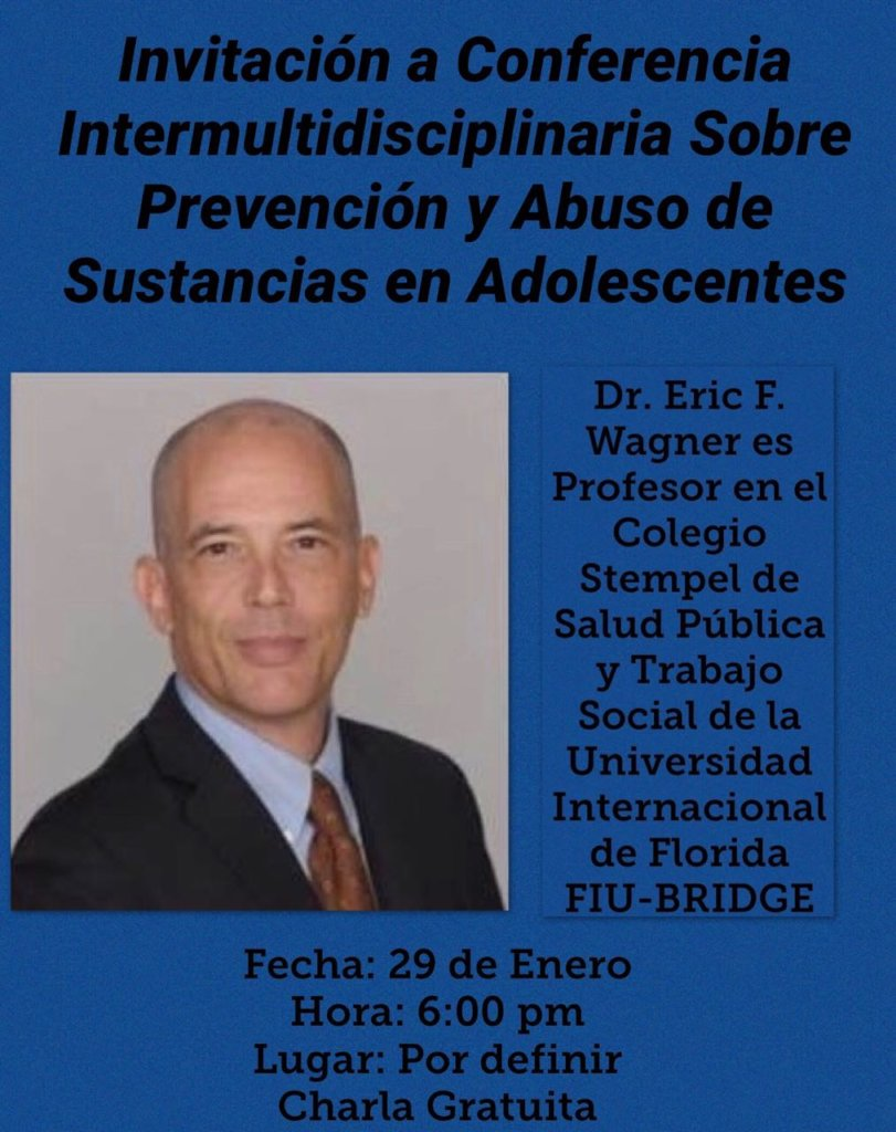 Our Main Speaker , Doctor Eric Wagner, FIU BRIDGE