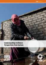 Understanding Resilience: Perspectives from Syria (PDF)