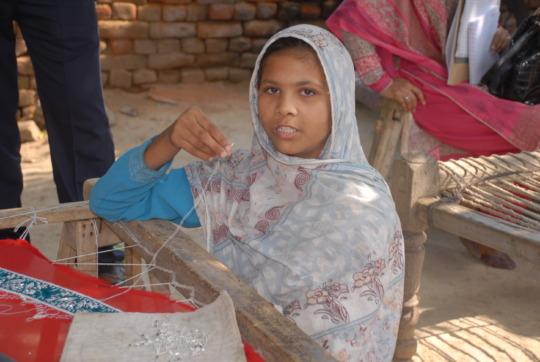Shamim left school at age of nine years