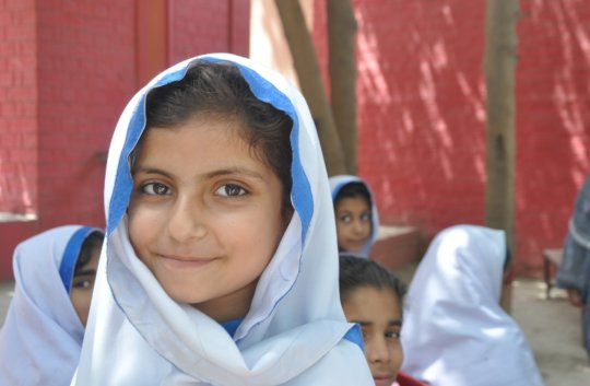 63 girls go back to school