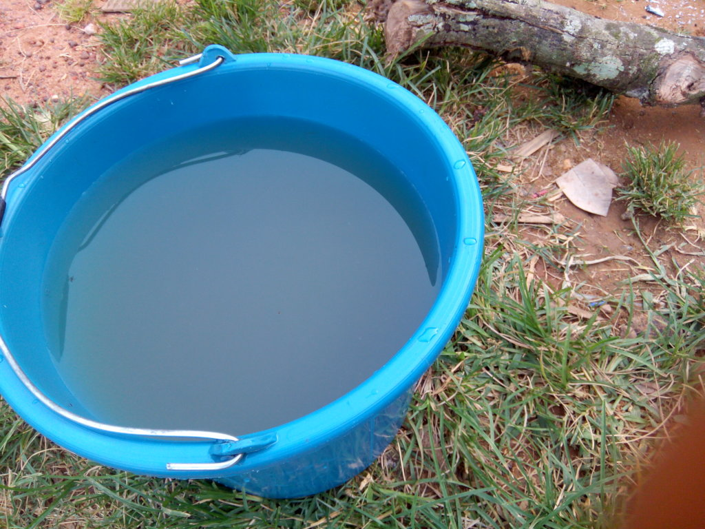 quality of the water collected from the river