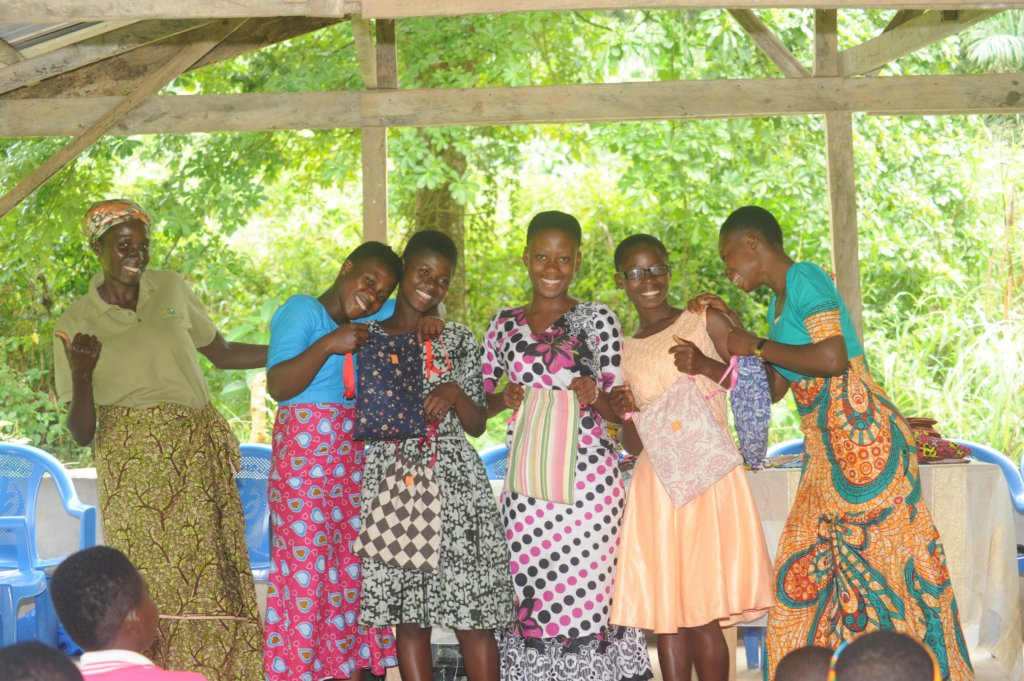 Stop 125 Teen Girls in Ghana from Missing School