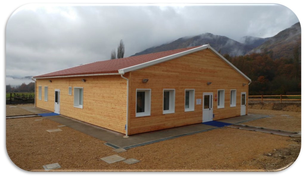 A new canteen for 60 children after the earthquake