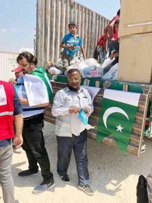 Visit to Refugee Camps and Distribution of Goods