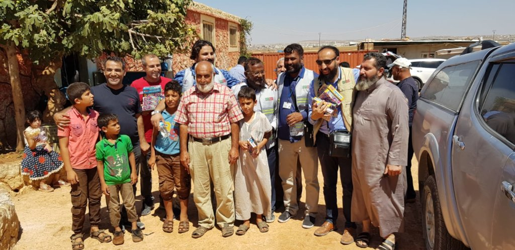 Syrian Refugees Relief Fund By CHCS pakistan