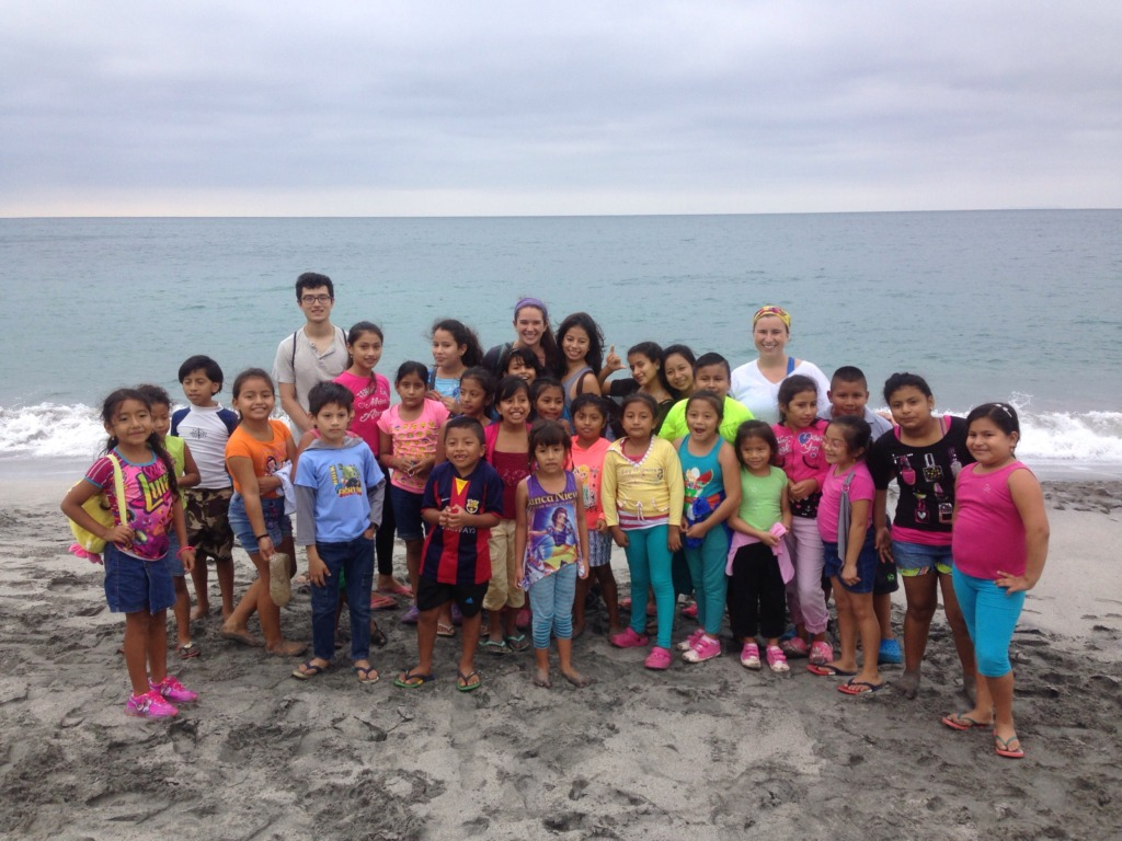 Our field trip to Los Frailes
