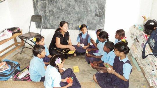 Slow Learners Project in Govt Schools in Karnataka