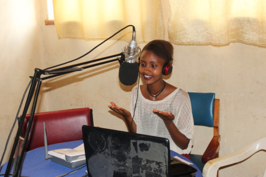 Girl Ambassador Esther discusses women's rights.