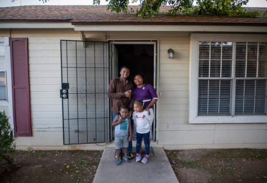 A DRC family builds a new life in Phoenix.