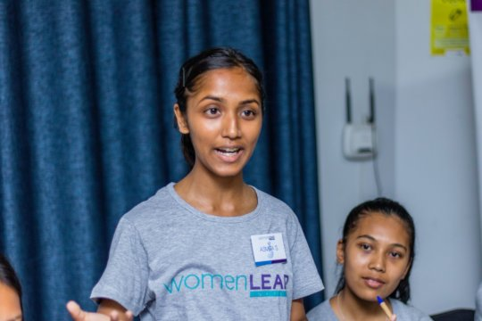 2019 LEADer Asmita during Leadership Institute