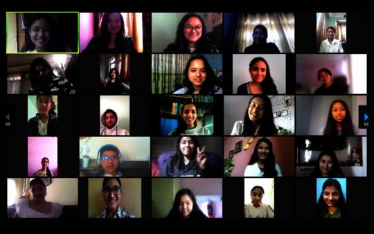 SLP Participants during their virtual graduation!