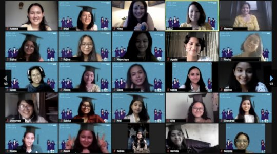 Our 2020 LEADers during their Virtual Graduation!