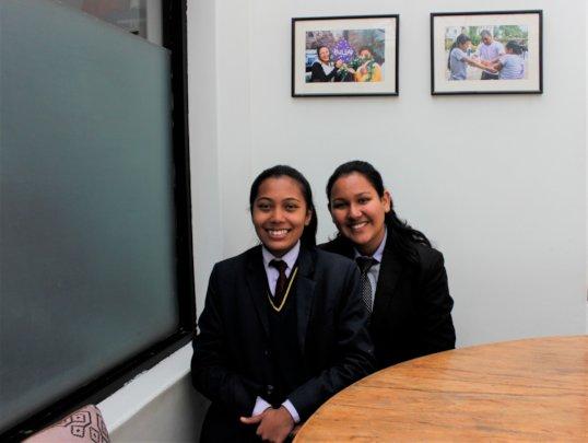 2019 LEADers Apsana and Raisha