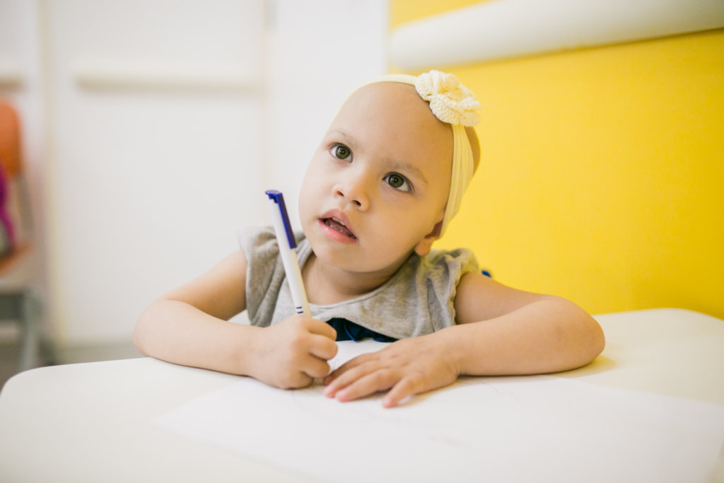 Better chances for childhood cancer in Brazil