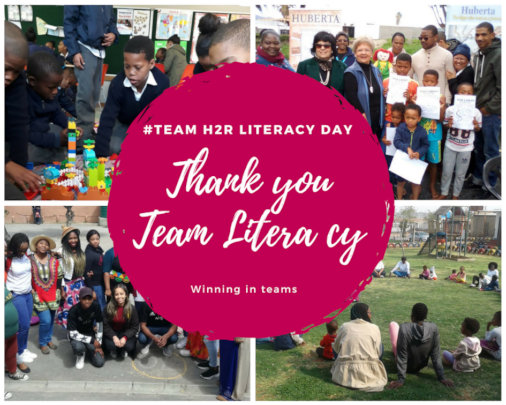 Thank you to Team Literacy