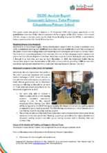 2020 Analysis Report Community LT Programme (PDF)