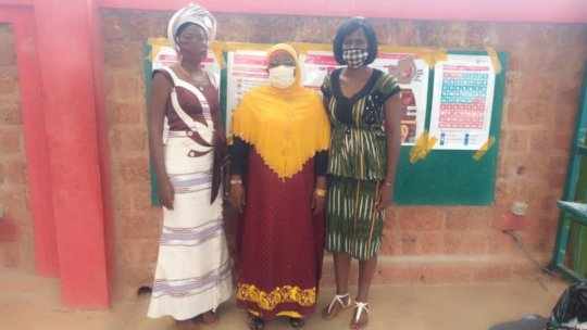 BARKA's MHM Project Leaders Receive Menstrual Cups