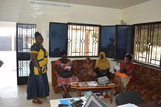 BARKA's Project Leaders Meet in BARKA's Office