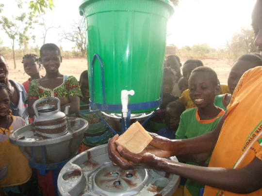 Handwashing with soap is key to halt transmission