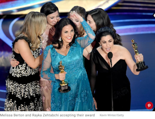 """""""Period. End of Sentence."""" wins Oscar for Best Doc"""